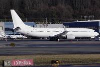 9K-GCC @ KBFI - BBJ3 (737-900ER) seen at BFI with a new registration. Formerly N373BJ and N900AK ntu. - by Joe G. Walker