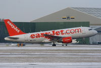 G-EZGC @ EGCC - easyJet A319 departing from RW05L - by Chris Hall