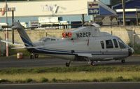 N22CP @ TNCM - N22CP at the helipad at TNCM - by Daniel Jef