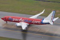 VH-VOX @ VTSP - Pacific Blue Boeing 737-.800