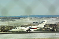 N111KJ @ KBIL - Citation 525B departing Billings runway 28R bound for Kansas City downtown. - by Daniel Ihde