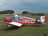 D-EHKA @ EDKM - Ready for a flight - by ghans