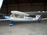 D-EHCF @ EDKM - Inside hangar - by ghans