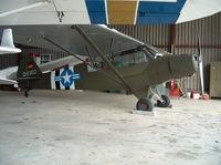 D-ERDJ @ EDKM - Inside hangar - by ghans