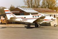 G-BHGT @ EGTR - Parked at Elstree in the early 1980s - by G TRUMAN