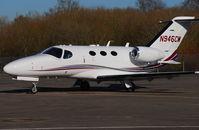 N946CM @ EGLK - Citation Mustang at Blackbushe - Cessna demonstrator aircraft - by Michael J Duffield