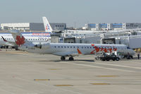 C-FNJZ @ DFW - Air Canada JAZZ at the gate - DFW Airport - by Zane Adams