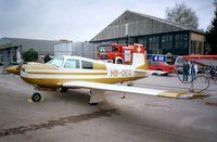 HB-DEG @ EDNY - Mooney M.20E at the AERO 2001, Friedrichshafen