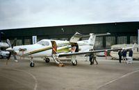 HB-FOO @ EDNY - Pilatus PC-12 at the AERO 2001, Friedrichshafen