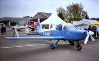 D-ENMY @ EDNY - Mylius MY-103 Mistral (first series production aircraft, still unflown) at the AERO 2001, Friedrichshafen - by Ingo Warnecke