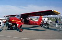 SP-WEI @ EDNY - PZL-104M Wilga 2000 at the AERO 2001, Friedrichshafen