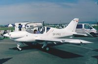 SP-PRG @ EDNY - PZL-112 Junior at the AERO 2001, Friedrichshafen