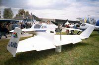 ZU-AND @ EDNY - Richter Delta Dart II Bateleur at the AERO 2001, Friedrichshafen