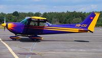 HB-CIU @ EGLK - Colourful Swiss Cessna 172 at Blackbushe 28th July 2007 - by Michael J Duffield