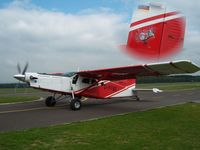 D-FFBZ @ EBSP - Pilatus PC6 at Spa , shots where taken for the picture Commissar Witse - by Seppe Thomassen