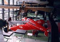N12222 - Lockheed 9C Orion (painted to represent CH-167 of Swissair) at the Verkehrshaus der Schweiz, Luzern