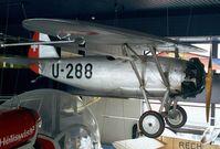 U-288 - Dewoitine D.26 at the Verkehrshaus der Schweiz, Luzern
