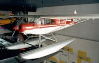 HB-OPR - Piper PA-18 Super Cub with floats at the Verkehrshaus der Schweiz, Luzern