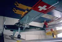 A-97 - Fieseler Fi-156C-3 Storch at the Verkehrshaus der Schweiz, Luzern - by Ingo Warnecke
