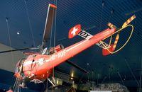 HB-XDF - Sud Aviation SE.3160 Alouette III at the Verkehrshaus der Schweiz, Luzern