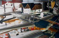 A-210 - Messerschmitt Bf 108B-1 Taifun at the Verkehrshaus der Schweiz, Luzern - by Ingo Warnecke