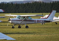 G-BHYX @ EGLM - Cessna 152 Ex N67434 at White Waltham - by moxy