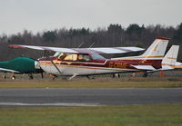 G-CBME @ EGLK - Reims Cessna F172M Skyhawk Ex TF-FTV at Blackbushe. - by moxy