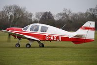 G-AXJI @ EGBD - 1969 Beagle Aircraft Ltd BEAGLE B121 SERIES 2, c/n: B121-090 at Derby Eggington