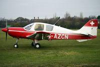 G-AZCN @ EGBD - 1972 Beagle Aircraft Ltd BEAGLE B121 SERIES 2, c/n: B121-156 at Derby Eggington