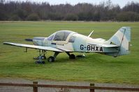 G-BHXA @ EGBD - 1980 British Aerospace BULLDOG SERIES 120 MODEL 1210, c/n: BH120/407 at Derby Eggington