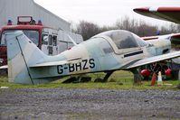 G-BHZS @ EGBD - 1980 British Aerospace BULLDOG SERIES 120 MODEL 1210, c/n: BH120/411 at Derby Eggington