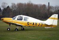 G-AXJJ @ EGBD - 1969 Beagle Aircraft Ltd BEAGLE B121 SERIES 2, c/n: B121-091 at Derby Eggington
