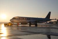 A7-AHD @ LOWW - Qatar Airways Airbus 320