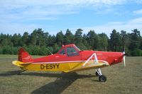 D-ESYY @ EDLO - picture was taken on airfield Oerlinghausen Germany. - by vdwetering