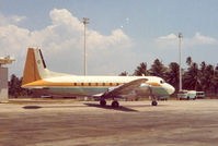 4R-ACJ @ CMB - Air Ceylon , Colombo , 1972 - by Henk Geerlings