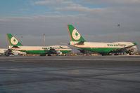 B-16401 @ LOWW - Eva Air Boeing 747-400