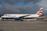 G-EUYG @ LOWW - British Airways Airbus 320