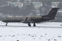 D-AGVS @ LOWI - Silverbird Gulfstream G450  c/n 4113. - by Delta Kilo