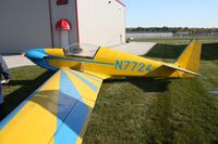 N7724 @ TDZ - EAA breakfast fly-in at Toledo, Ohio