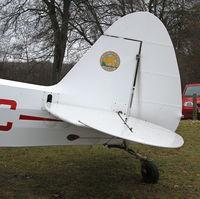 G-BOOC @ EGHP - Cub outside the Wiltshire Maintenance hanger - by BIKE PILOT