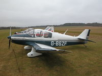 G-BSZF @ EGHP - This Jodel flew in from Shoreham - by BIKE PILOT