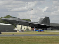 06-4126 @ EGVA - The first UK display of the F-22 - by Manxman