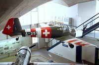 D-EDOC - Bücker Bü 181B-1 Bestmann at the Fliegermuseum Dübendorf - by Ingo Warnecke