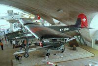 A-100 - Fieseler Fi 156 C-3 Storch at the Fliegermuseum Dübendorf - by Ingo Warnecke