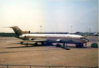 5A-DAI @ LIRF - Libyan Arab Airlines , Rome 1977 - by Henk Geerlings