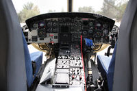 N120LA - View of the cockpit. Thanks to the crew for the visit ! - by olivier Cortot