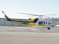 N110LA @ POC - Loaded up and ready to go - by Helicopterfriend