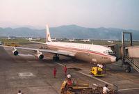 B-1830 @ RCTP - Taipei Airport , 1978 - by Henk Geerlings