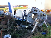 G-OFLG @ EGBD - crashed during take-off 23rd July 2005 - by Chris Hall