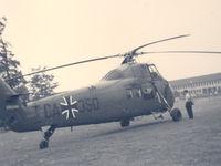 CA-350 - German Airforce. Landing at Rheindahlen NATO HQ, 2ATAF , Germany , Jun '62 - by Henk Geerlings